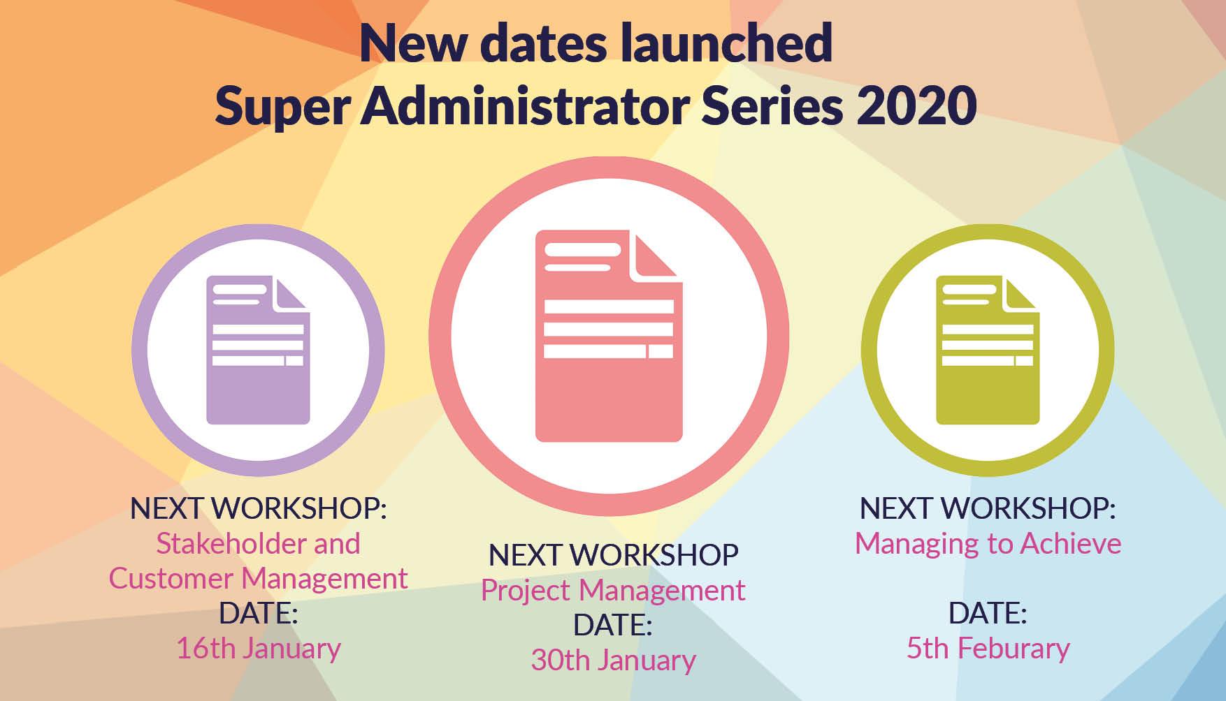 New SAS 2020 dates